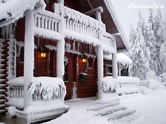 Снять коттедж в финляндию на новый год